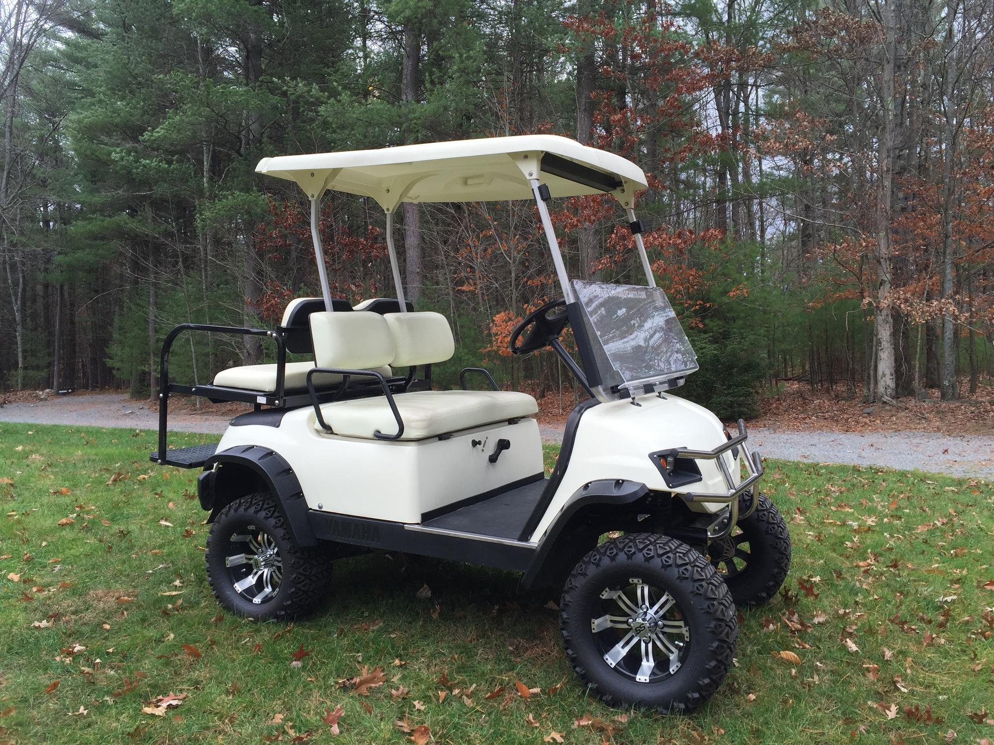 Photos of Yamaha Golf Cart Lift
